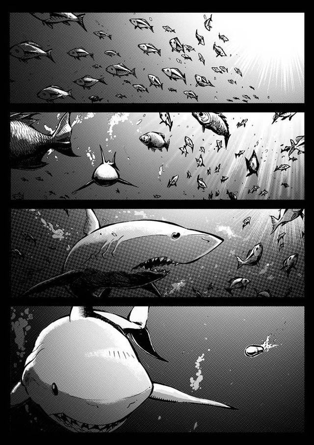 "7k7k漫画,漫画:幽暗的海面下,藏着噬命""怪物""《海狼U-37》第1话"