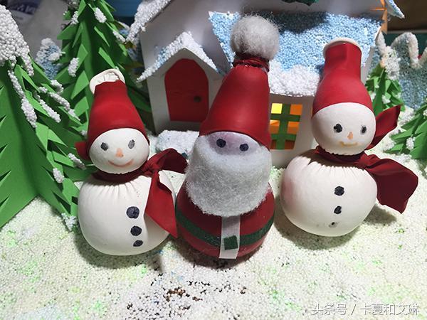 帽子的做法,手工教程|一分钟教会你做超级简单的圣诞老人