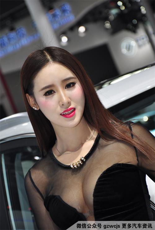 车模图片,保证没有车 广州车展绝美车模(一)
