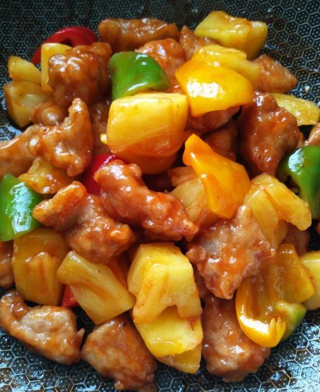 菠萝古老肉的做法,清代名菜菠萝古老肉做法曝光