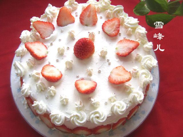 草莓蛋糕怎么做,草莓蛋糕