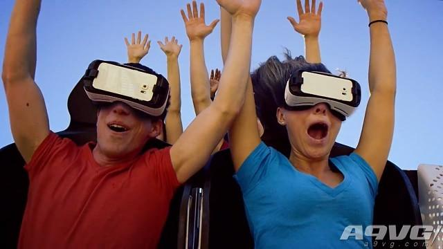 vr 过山车,虚拟现实带来革命性体验:美国六旗公园推出VR过山车