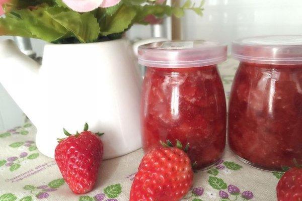 草莓酱的做法,美味草莓酱的做法步骤