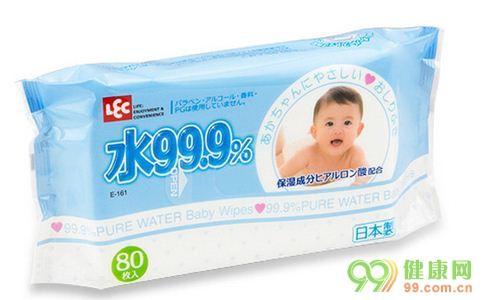 婴儿湿巾,安全有效 婴儿本铺水99.9%湿纸巾评测