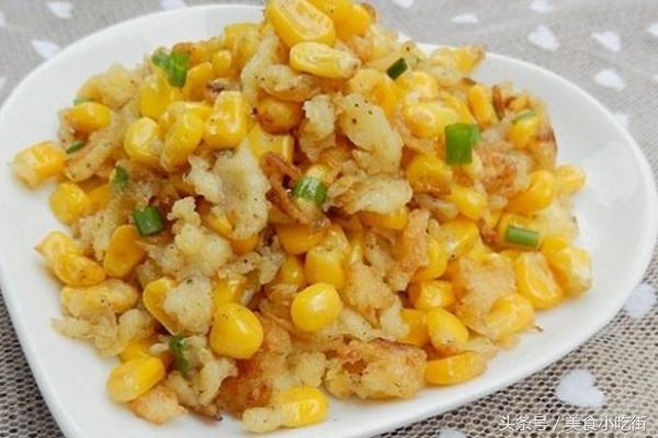 椒盐玉米的做法,手把手教你做出美味又营养的椒盐玉米,吃了还能提高人体免疫力