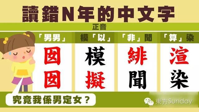 囡怎么读音,22个你可能会读错的广东话 囡囡读「男男」?