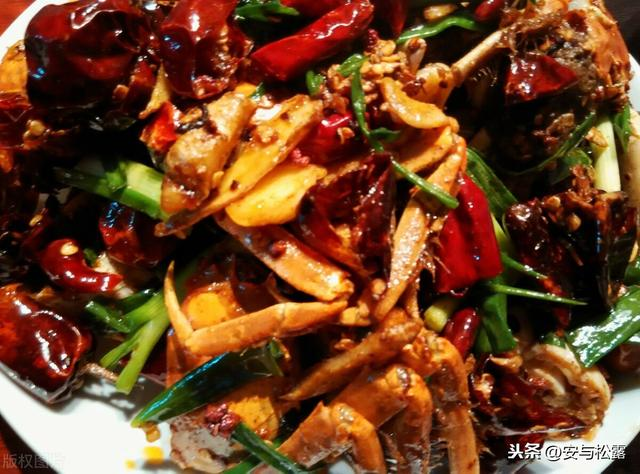 香辣蟹的做法,香辣蟹,鲜香入味超开胃,营养美味的家常菜,做法简单新手零失误