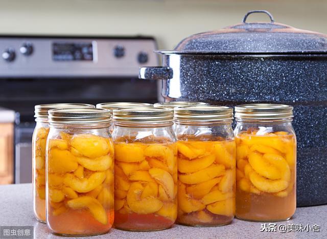 做罐头怎么做,这才是黄桃罐头的正确做法,果肉香甜爽脆有技巧,方法超简单
