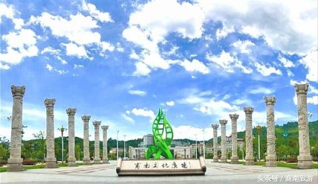 五的诗,商南文化广场见寄(平水韵,五歌)(七律)