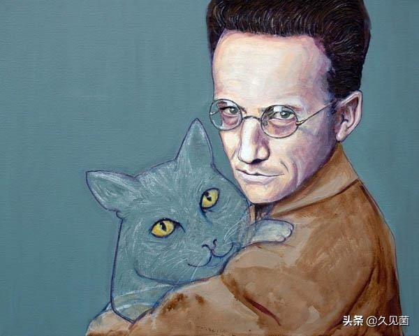 薛定谔的猫是什么意思,薛定谔的猫,是如何让爱因斯坦质疑上帝的?一个盒子、多个世界