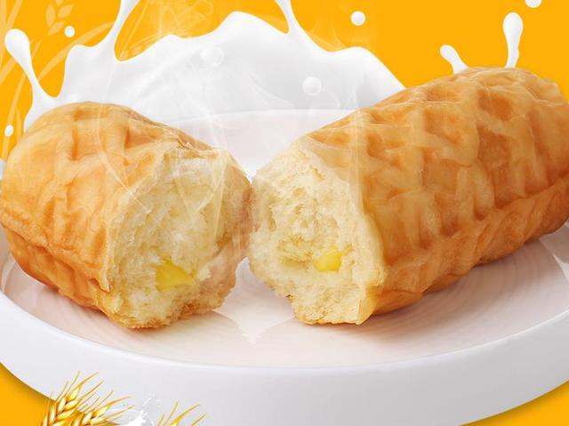 巴比熊华夫面包早餐糕点心口袋奶香零食蛋糕小面包整箱