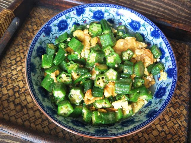 秋葵怎么做好吃,秋葵最好吃的做法,营养不流失,秋葵翠绿味道好,孩子吃得真香