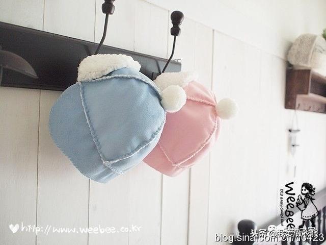 帽子的做法,两款萌萌的婴儿帽子教程