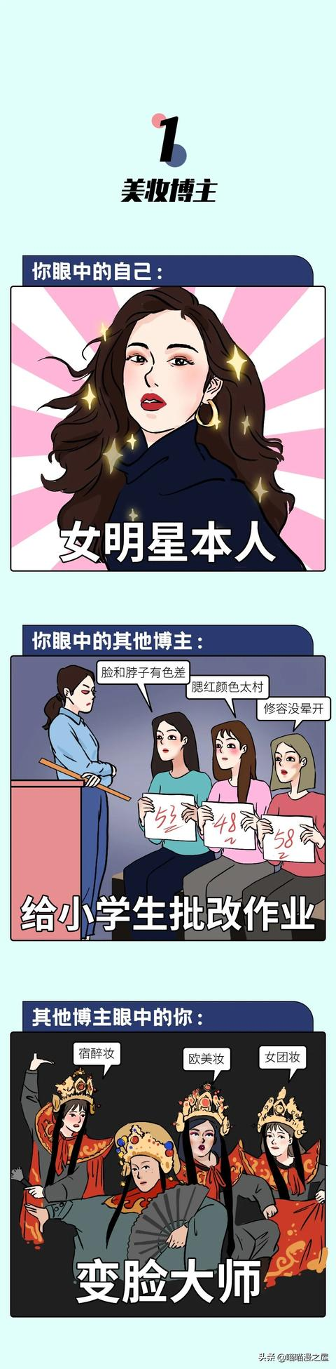 被x漫画,顶级博主撕X现场,速来吃瓜!(漫画)