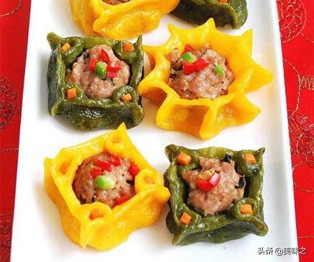 蒸饺的做法,16种花式蒸饺做法,高颜值的花式蒸饺,看着就很有食欲