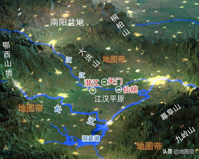 仙桃景点,元末群雄之一陈友谅的老家湖北沔阳,为何改名为仙桃?