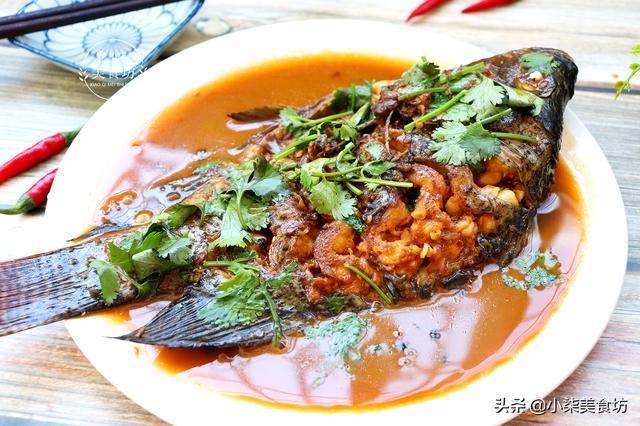 罗非鱼的做法,家常罗非鱼做法,好吃营养高,简单一做,比吃红烧肉还香,超解馋
