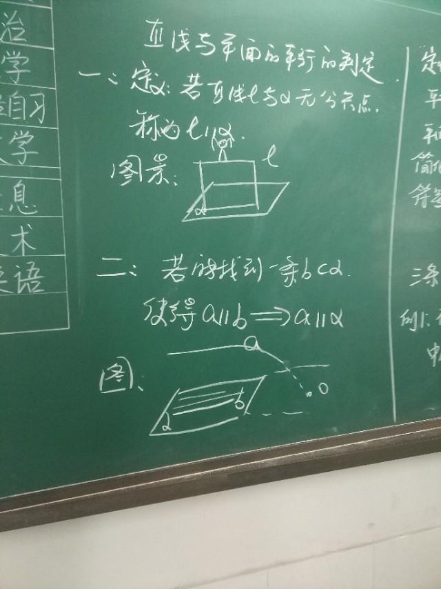 高一数学必修2:直线与平面平行备课思路