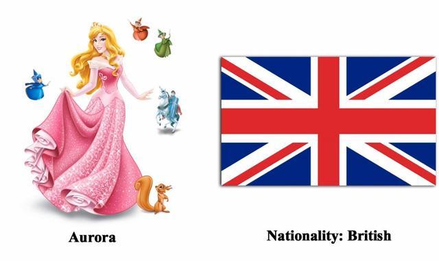迪士尼有哪些公主,迪士尼公主都代表哪些国家?反正我觉得代表中国那个最美