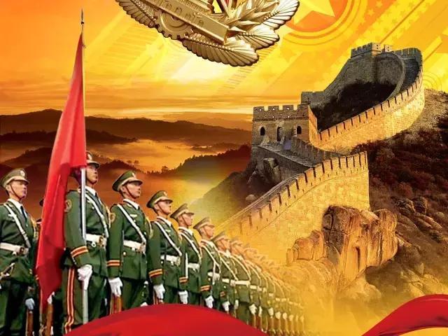 建军节祝福语,马上八一建军节了,最美的祝福送给所有穿过军装的人,越快打开越好