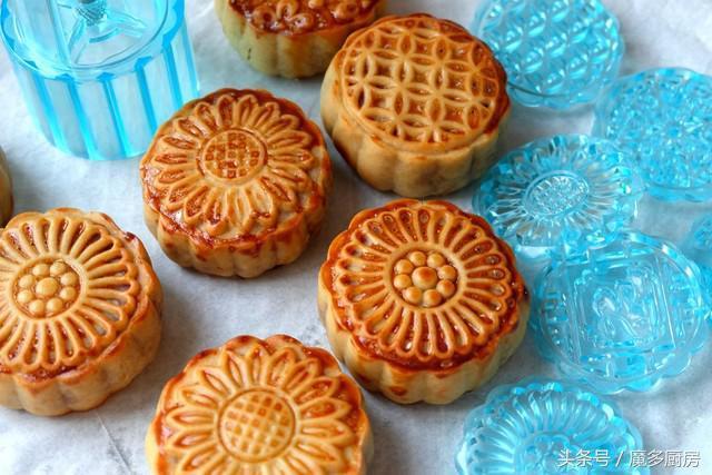 月饼的做法,月饼别再买了,自己做的营养又健康,甜而不腻,做法很简单!