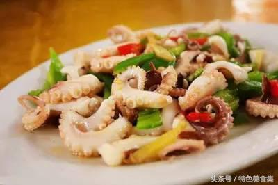 章鱼的吃法,章鱼的10种做法,味鲜有嚼劲,一起来学一下吧!