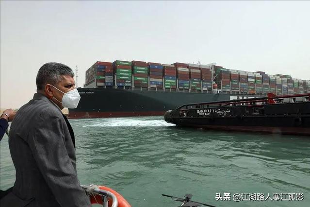 在日常生活拥堵很普遍,但堵船你见过么?