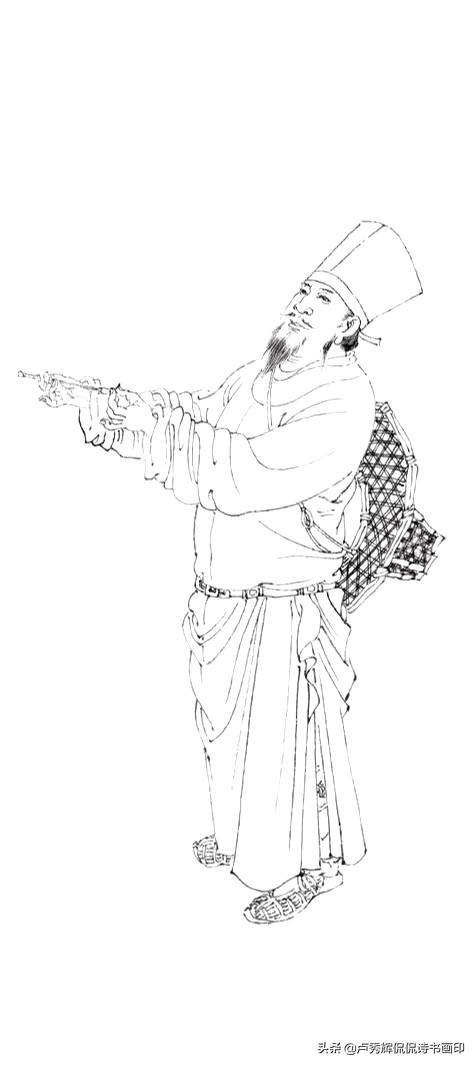 姓董的名人,北周末隋初画家董伯仁与展子虔齐名,有《三顾茅庐图》传世