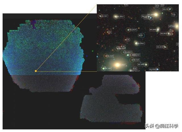 外太空图片,科学家发布10万亿像素的二维宇宙图像,这是宇宙的真实模样吗?