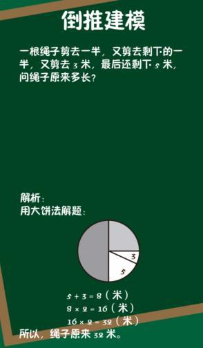 【小学奥数】第9堂课:正向思考  倒推建模