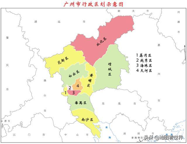 广州旅游景点大全,城市冷知识1:广州11区简明介绍,让你快速了解广州市