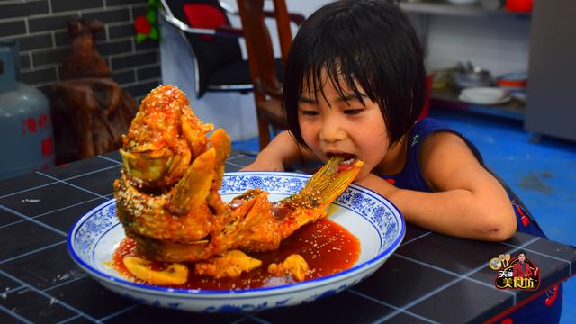 糖醋鲤鱼的做法,糖醋鲤鱼最好吃的家庭做法,酸甜开胃,看看你喜欢吃不?