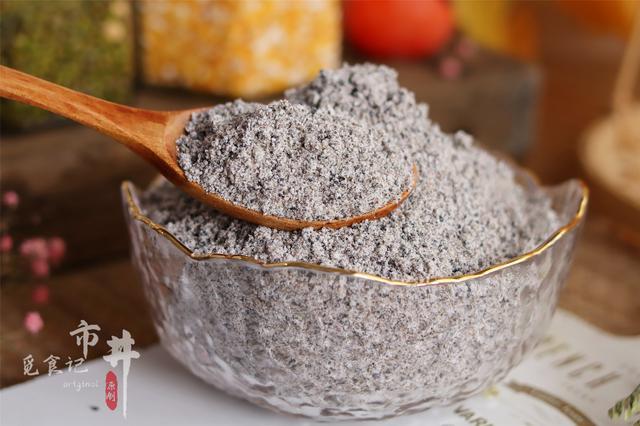 黑芝麻的吃法,1碗芝麻炒一下,早餐不用发愁了,好吃还健康,冬天吃太合适了