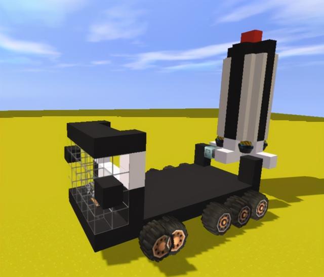 迷你世界怎么做车,迷你世界:如何制造一辆仿真导弹车?掌握这几种道具使用方法即可
