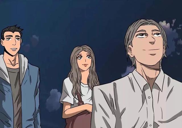 月亮漫画,漫画故事:不夜城里久违的月亮