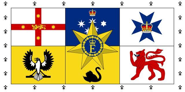 大洋洲有哪些国家,各国国家元首标识(七):大洋洲
