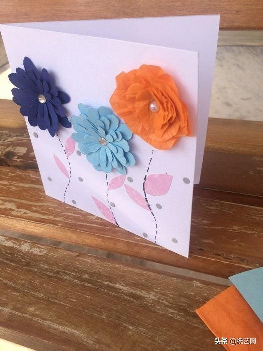 小学生贺卡简单又漂亮,3种简单、好看的贺卡教程来了!母亲节父亲节教师节都可以用!