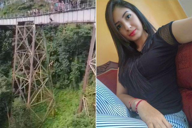 绳没系好就跳了!哥伦比亚蹦极女子从50米高空坠落身亡 全球新闻风头榜 第1张