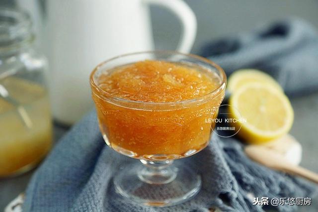 柚子茶的做法,清香滋润的蜂蜜柚子茶,买一个柚子做一瓶,可以喝很久