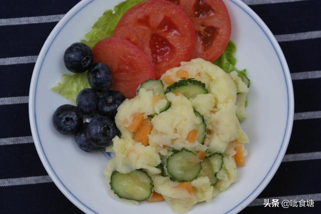 土豆泥的做法,日式土豆泥,秋天多吃皮肤水当当,做法简单口感清淡,吃完还想吃