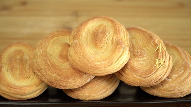 酥饼怎么做,没想到酥饼还能这么做,层次分明,酥脆好吃,一碰就掉渣