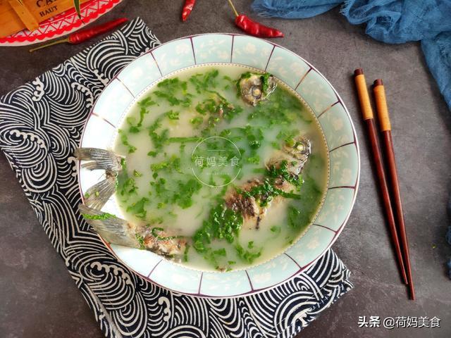 鱼汤的做法,鲫鱼汤的正确做法,记住这两点,鱼汤又白又鲜香,老人小孩都爱喝