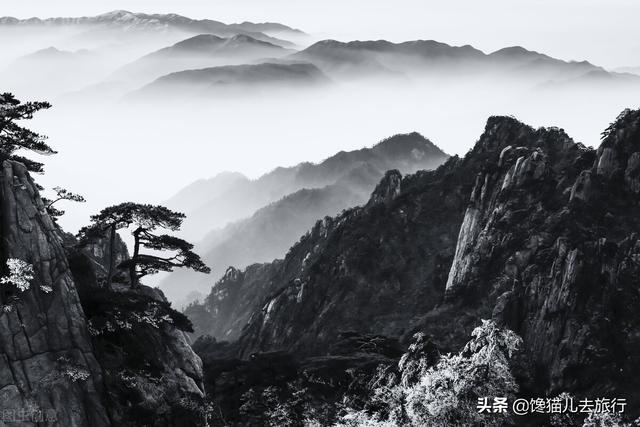 黄山风景区天气,黄山一天能爬完吗?按这个最佳线路走,大部分景色都能看到