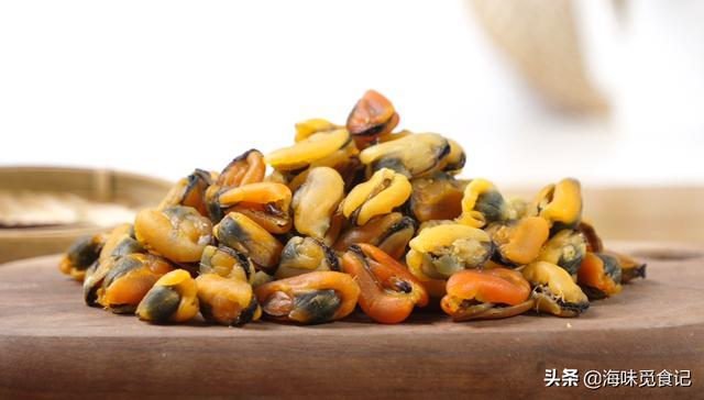 淡菜的吃法,海鲜年夜菜:淡菜干红烧肉,不加一滴水,鲜美入味不肥腻,超香