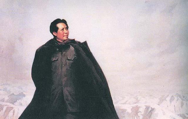 陈毅的诗,陈毅在报纸上看到毛主席的《沁园春》后,随手写唱和词,大气磅礴