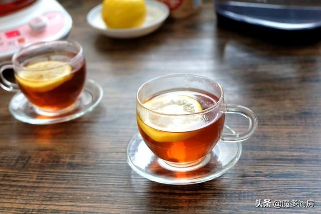 柠檬茶怎么做,柠檬红茶自己做,成本不过几元钱,酸甜适口助消化,做法分享