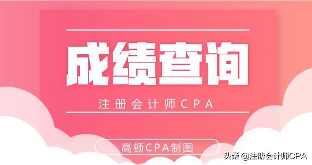 会计从业资格考试成绩查询,2019CPA考试成绩查询入口|查询时间及步骤