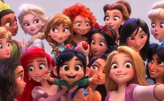 迪士尼有哪些公主,看了十几年迪士尼公主,才发现乐佩是赤脚仙女,艾莎是高跟鞋女王