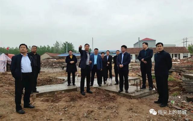 王立军督查全乡重点项目建设基本建设工作中