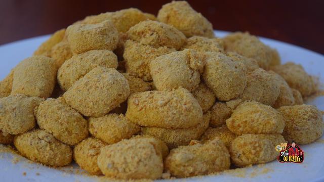 豆粉的吃法,黄豆粉糍粑好吃有诀窍,简单5步,做出来又香又糯,你也试试看吧